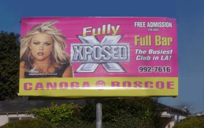Gentleman's Club Billboard